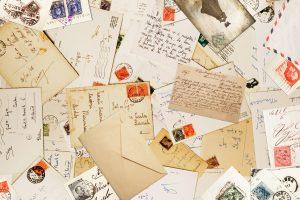 Eine Postkarte zu schreiben, muss nicht immer langweilig sein