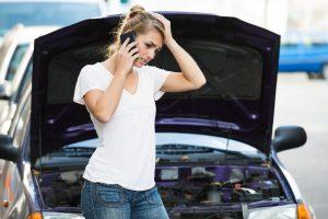 Autopanne: Was tun Sie am besten?