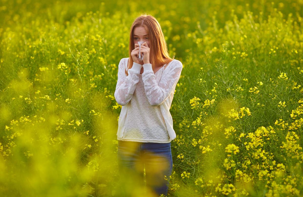 Heuschnupfen und Nahrungsmittel-Allergien können zusammen hängen