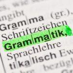 Kleine deutsche Grammatik: Welche Satzglieder gibt es im Deutschen?