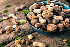 Gesunde Ernährung mit Nüssen