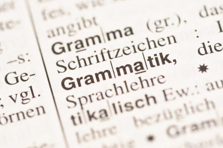 Kleine deutsche Grammatik: Welche Satzarten gibt es im Deutschen?