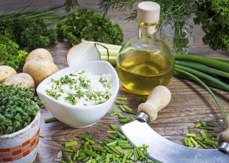 Kochtipps zum Abnehmen: Kresse und Quark