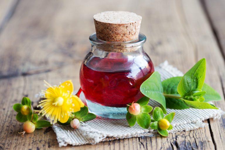 Johanniskrautöl zur Wundheilung selber machen