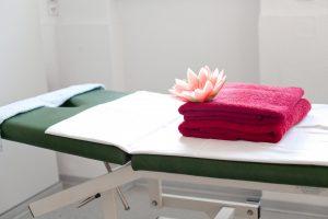Gesundheitszentrum für daheim: Massageliegen