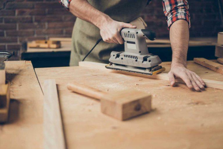 Do-it-yourself – 7 Tipps für das Schleifen von Holzoberflächen