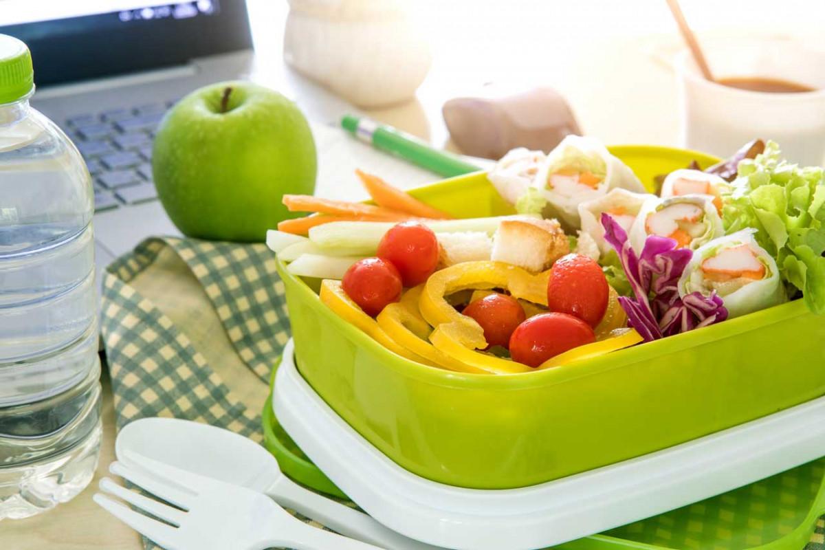 Wie Sie im Büro lecker und gesund essen können