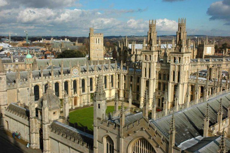 Die beliebtesten Reiseziele in Großbritannien: Oxford