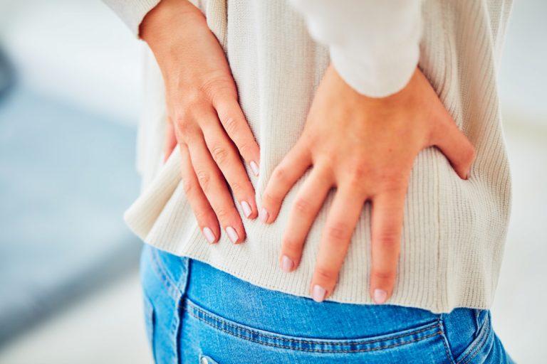 Rückenschmerzen: Schmerzen an der Brustwirbelsäule