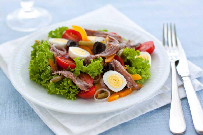 Schnelles Mittagessen: Rezept für Salat Nizza