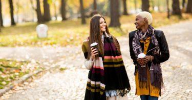 Smalltalk über gute und schlechte Herbsttage
