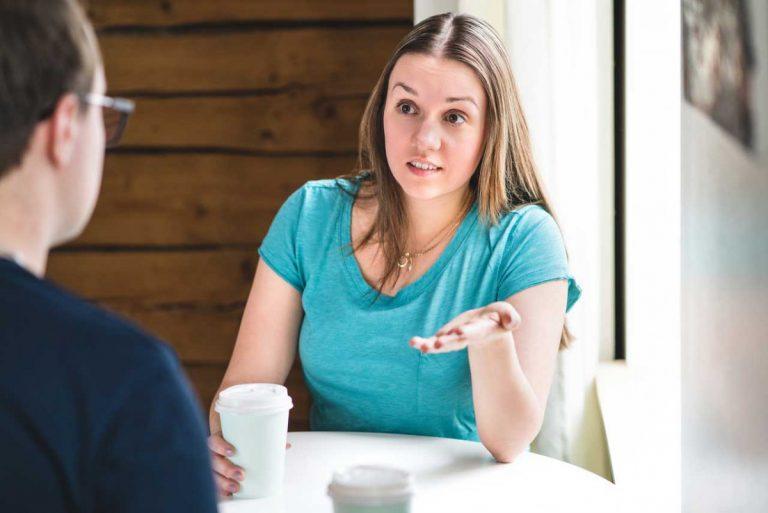 Wenn Sie ein Gespräch wollen, sollten Sie auf Vorwürfe verzichten