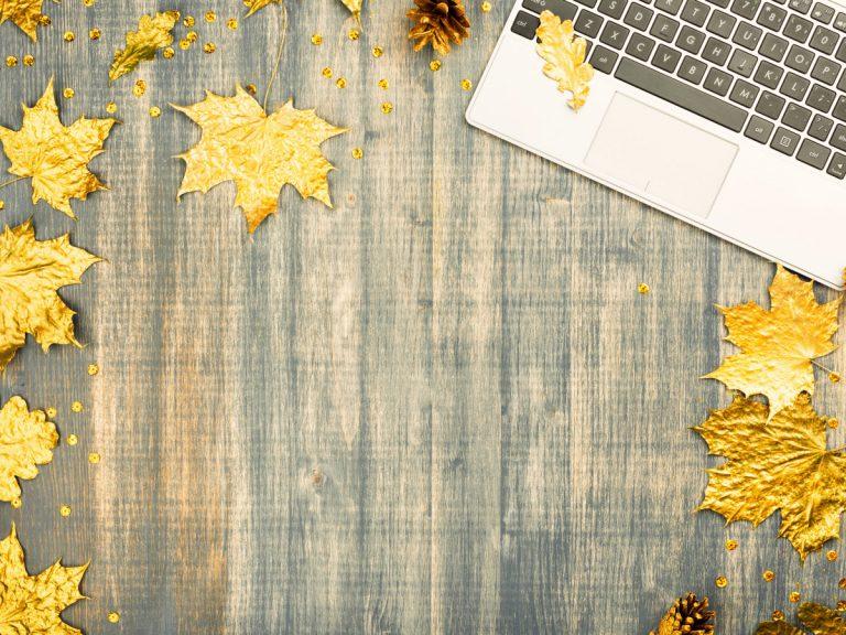 Tipps und Muster für ein Mailing im Herbst