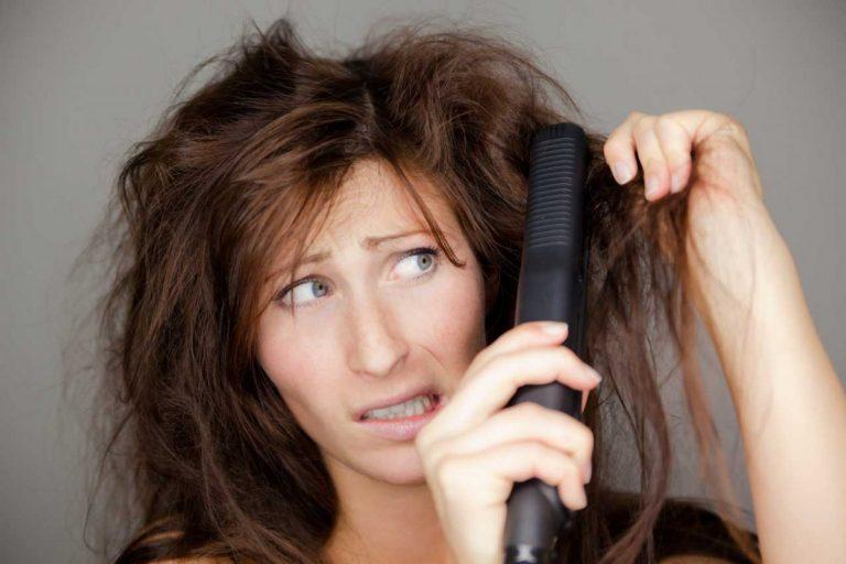 Haare glätten – So geht's