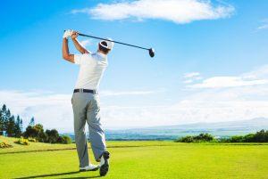 Golfen ohne Rückenschmerzen