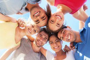 Bauen Sie sich einen starken Freundeskreis auf