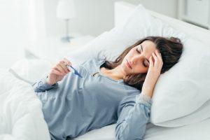 Entstehung und Behandlung von Kindbettfieber