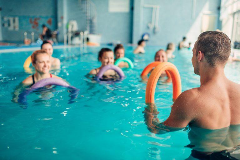 4 Übungen zum Abwärmen nach dem Aqua Fitness–Training