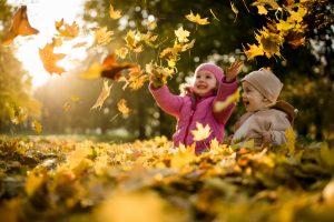 Herbst: Kunterbunte Ideen für Kinder