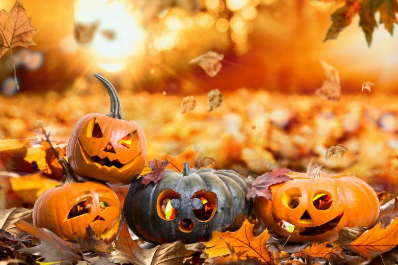Zu Halloween werben, aber anders als der Rest