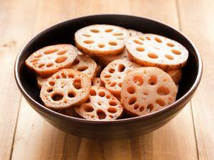 Probieren Sie ayurvedische Gerichte mit Lotuswurzel