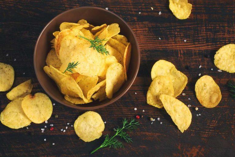 Kartoffelchips selbst herstellen
