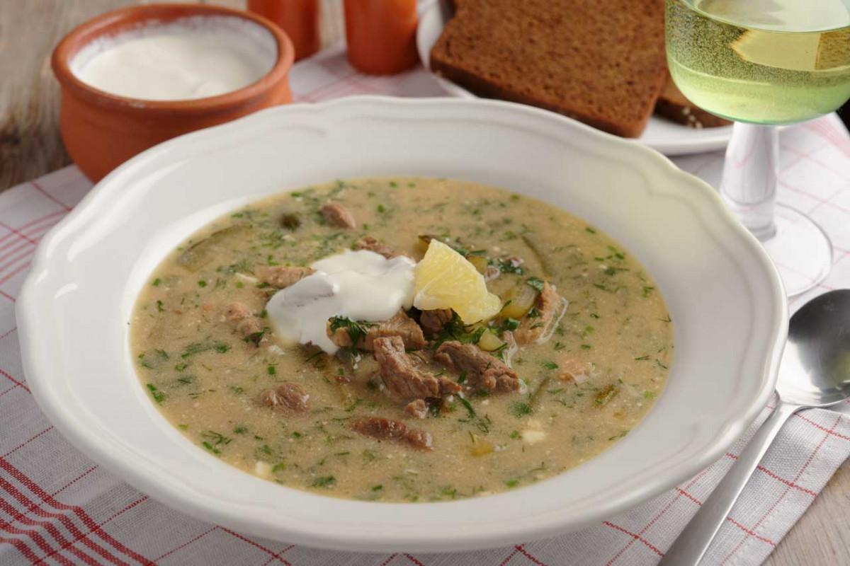 Petersburger Rassolnik: Russische Graupen-Suppe für die kalten Tage