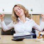 Stress abbauen durch Übungen am Arbeitsplatz