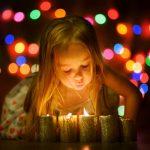 Ein süßer Adventskranz für Kinder