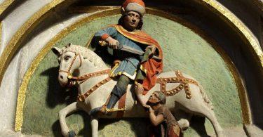 Smalltalk über Sankt Martin