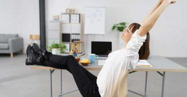 So bewegen Sie sich mehr im Büro und bauen Stress ab