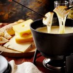 Leckeres Käsefondue aus Österreich