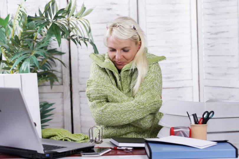 Raumklima im Winter: Bessere Luft am Arbeitsplatz
