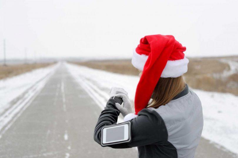 Laufen an Weihnachten – Für Linie und Wohlbefinden