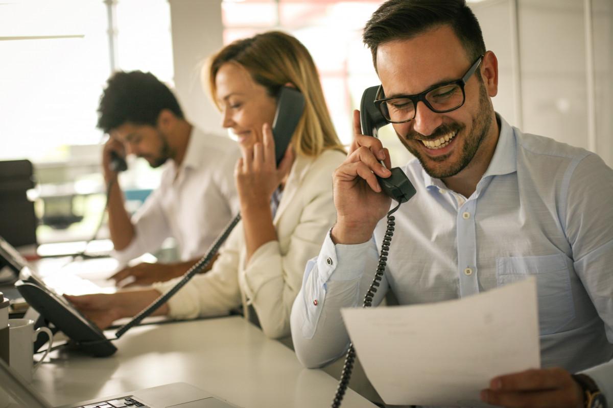 Professionell telefonieren mit potenziellen Kunden