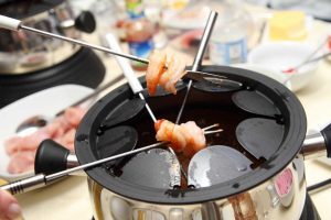 Raffiniertes Rezept für Fisch-Fondue an Silvester