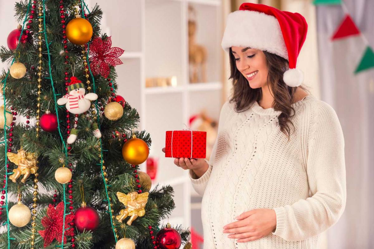 In der Schwangerschaft entspannt Weihnachten feiern
