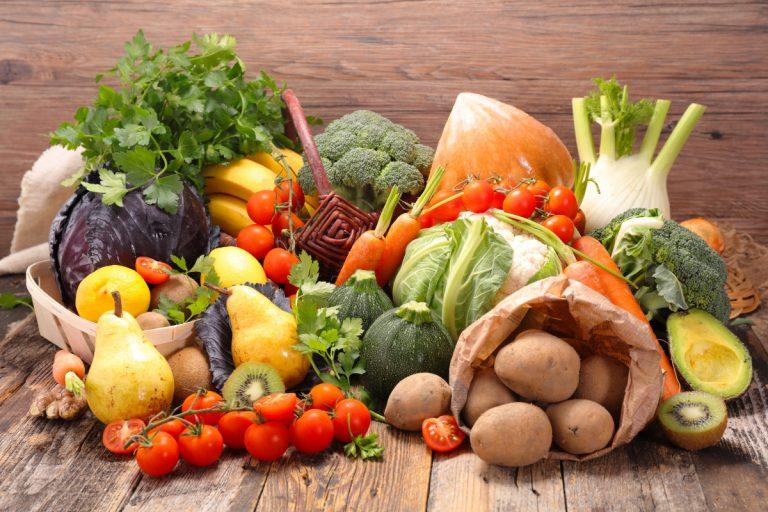 Mit Obst und Gemüse jeden Tag gesund ernähren