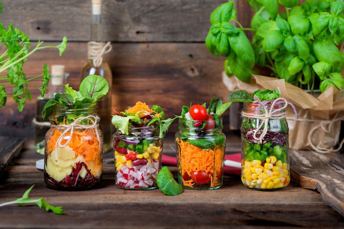 Gesundes Fastfood-Restaurant für Kinder