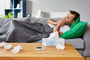 Echte Grippe von Erkältung unterscheiden