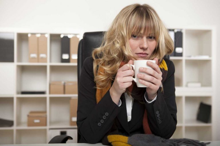 Frieren im Büro – nein danke!