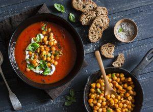 Rezepte zur Fastenzeit: Kichererbsen-Suppe