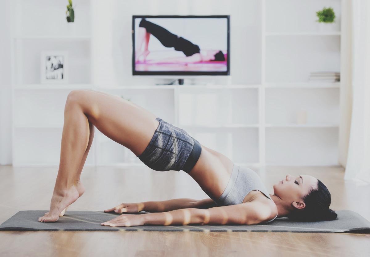 Fit zu Hause: Express-Workout mit dem eigenen Körpergewicht