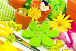 Mit Frühlingsbasteleien den Frühling herbeilocken
