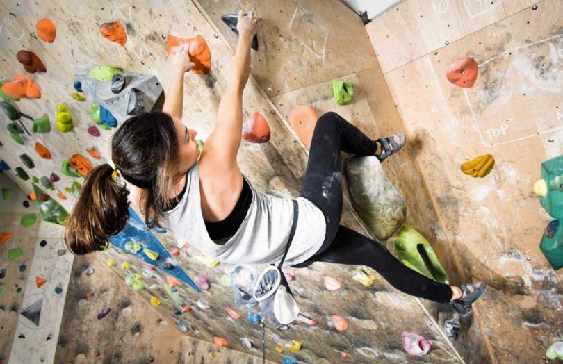 Klettern – exotische Sportart für den Rücken
