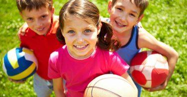 10 leichte Ballspiele für Kindergartenkinder