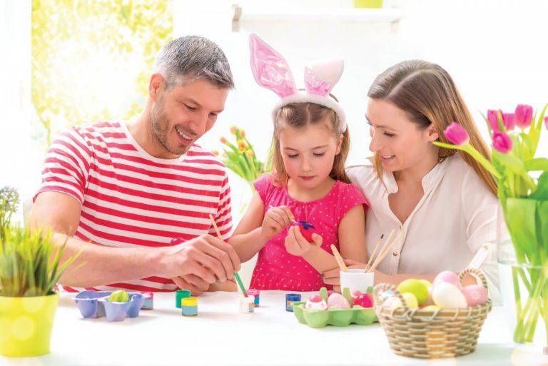Basteln für den Frühling und für Ostern
