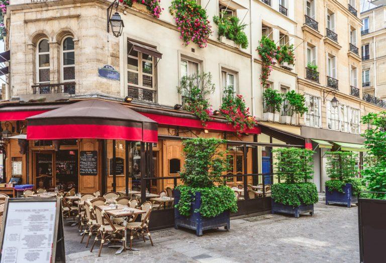 Erste Schritte in einem französischen Restaurant