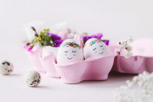 Sieben Ideen für witzige Osterverstecke
