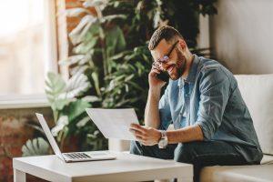 Beim mobilen Arbeiten auf die Gesundheit achten